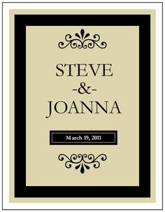 free wine bottle label template for weddings