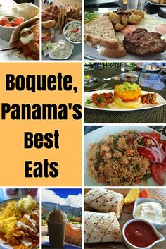 Here is a list of my favorite food spots in Boquete, Panama based on breakfast, lunch, and dinner. For such a small community, we sure have some fantastic eats!