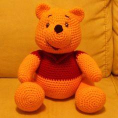 Winnie-the-Pooh.  Free pattern in spanish