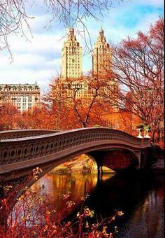 Herfst Central park