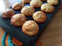 muffin proteici alla pesca
