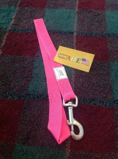 Pink AHE Nylon Bucket Hanger For Stables And Grooming Care Horse Tack