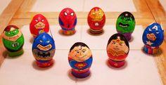 Super Heroes Easter Eggs