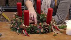 Traditionel adventskrans