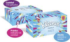 ¡Chollo! Pack de 5 Cajas con 140 Pañuelos Kleenex Family Maxi Pack por 3.70 euros.