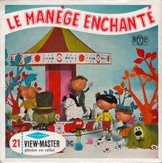 THE MAGIC ROUNDABOUT Le Manège enchanté View-Master 1965 (minkshmink)