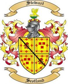 stewart family crest scotland - Google Search