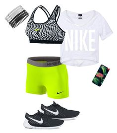 """""""Nike sport outfit"""" by lelemer1234 on Polyvore featuring mode et NIKE"""