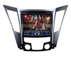 Hyundai Sonata Pure android car DVD player, auto multimedia head unit with 8 Inch multi-touch screen, built in Wifi, support USB 3G Internet access, support virtual N disc, GPS navigator support real-time traffic information and navigation, Radio with RDS, Bluetooth, iPod, AUX, analog TV, USB, SD, iPod, Support 1080 HD video, support live wallpapers and personalized wallpaper, CAN Bus funtion to support the facotry digital amplifier