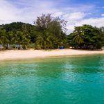 Kapas eiland aan de Maleisische oostkust