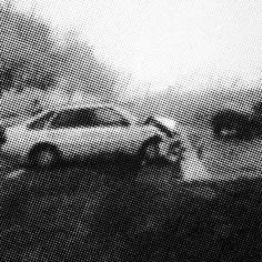 2005-2006 wypadek 5 120x120 cm  akryl/bawełna