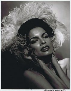 Bianca Jagger by George Hurell, 1978