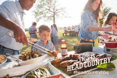 Food, friends, and family ... This Is Head Country. #headcountrybbq