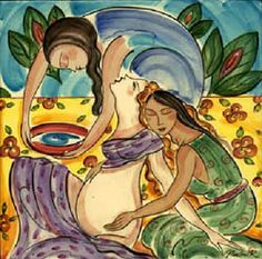"""""""If a woman doesnt look like a goddess during birth, someone isnt treating her right."""" Ina May Gaskin"""