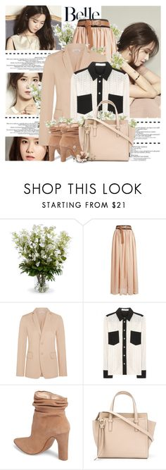 """-"" by lucy97m ❤ liked on Polyvore featuring Grafico, New Growth Designs, Tomas Maier, See by Chloé, Kristin Cavallari and Salvatore Ferragamo"