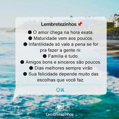 Amoorzinho ❤ Me Descreveu ❤ Sticky Notes, Sentences, Texts, Letters, Messages, Thoughts, Motivation, Feelings, Life