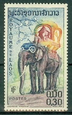 Laos - Scott 43 MNH - bidStart (item 38678385 in Stamps, Asia, Laos)