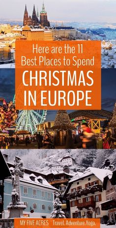 22 Best Places to Spend Christmas in Europe for a Perfect Winter Escape - - Christmas city breaks, sunny beach escapes, and fairytale landscapes. these are the best places to spend Christmas in Europe for a perfect winter holiday. Backpacking Europe, Europe Travel Tips, European Travel, Europe Packing, Travel Destinations, Packing Tips, Travel Deals, Travel Hacks, Travel Packing