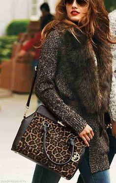 Michael Kors Leopard Style