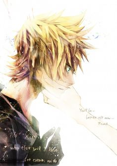 I can just hear Roxas' pleads for Xion to stay with him... Ugh! Kingdom Hearts knows how to make you cry! DX