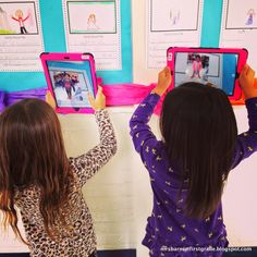 Using AR - Augmented Reality in the classroom with Aurasma. Great bulletin board for Parent-Teacher Conferences!