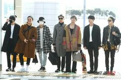 BTS At Incheon Airport Heading To Los Angeles for the AMAs~ (PRESS - 171114) ❤ #BTS #방탄소년단