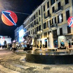 Milano: C.so Como by night!