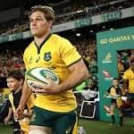 Super Hooper commits to five more years with Australian rugby Michael Hooper, Sports News, Rugby, Polo Ralph Lauren, Polo Shirt, Mens Tops, Shirts, Fashion, Moda