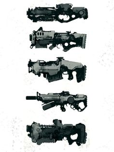 speedie guns by *torvenius on deviantART