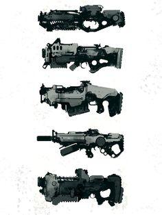 Speedie Guns by torvenius