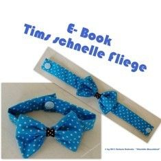 Free e-book Tim's fast fly - Hairband Necktie Quilt, E Book, Sewing For Kids, Hair Band, Diy Clothes, Free, Kids Outfits, Sewing Projects, Bows