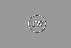 Personal Logo, Personal Branding, Initial Letters, Letter Logo, Typography Logo, Lettering, Restaurant Service, Website Names, Old Logo