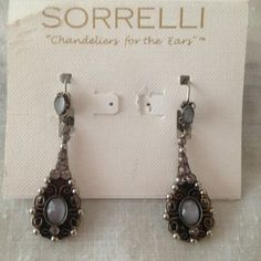 NWT Sorrelli earrings color debonair NWT Sorrelli debonair chandelier earrings.. New from my friends boutique in NY these are priced as marked they still sell for full retail.. No trades sorelli Jewelry Earrings