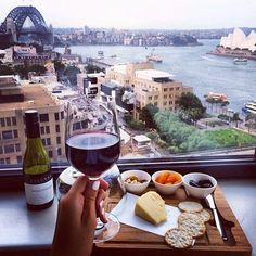 Wine & Cheese For Breakfast In Sydney