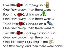 ladybug songs for preschoolers - Google Search