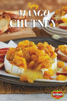 Spicy Mango Chutney - Mango chutney is delicious served with curry ...