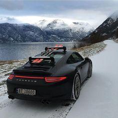 Skiing Anyone?  | By @porschecenterbergen | #OnlyForLuxury by onlyforluxury