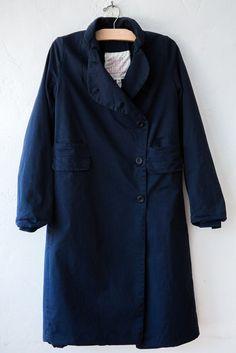 hannoh wessel blue carine coat
