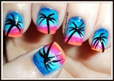 Southern Sister Polish: Take me to the beach! Nail Art Wednesday