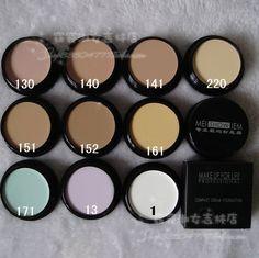Profissional de maquiagem profissional fundação creme corretivo creme 20 g alishoppbrasil
