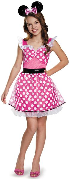 pink minnie mouse teentween costume