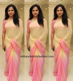 Discover thousands of images about Simple Sarees, Trendy Sarees, Stylish Sarees, Fancy Sarees, Sari Design, Sari Blouse Designs, Blouse Patterns, Indian Beauty Saree, Indian Outfits