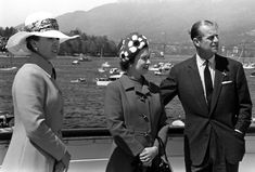 Princess Anne, Queen Elizabeth II and Prince Philip