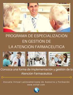 Conozca una forma de implementacion y gestión de la atención farmacéutica. Mas información a contacto@evilaf.com Shape, School, Management