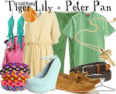 Like the tiger Lilly but Peter Pan looks like scrubs lol