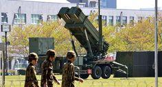 Japão implanta sistemas Patriot para se defender da Coreia do Norte