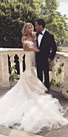 24 Top Wedding Dresses For Bride ❤️ top wedding dresses mermaid off the shou. 24 Top Wedding Dresses For Bride ❤️ top wedding dresses mermaid off the shoulder v neckline lace galia lahav ❤️ Full gallery: weddingdressesgui. Top Wedding Dresses, Lace Mermaid Wedding Dress, Evening Dresses For Weddings, Mermaid Dresses, Bridal Dresses, Wedding Gowns, Lace Dresses, Elegant Dresses, Dress Lace