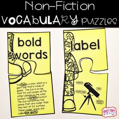 Teaching non-fiction text and graphic features