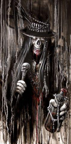 Baron Samedi by Stelf-2014 on deviantART ~Voodoo~