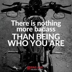 18 Biker Chick Memes Quotes & Sayings - Nothing more badass biker chick quote Biker Quotes, Motorcycle Quotes, Motorcycle Tips, Happy Birthday Biker, Biker Chick Outfit, Biker Chick Style, Riding Quotes, She Wolf, Lady Biker